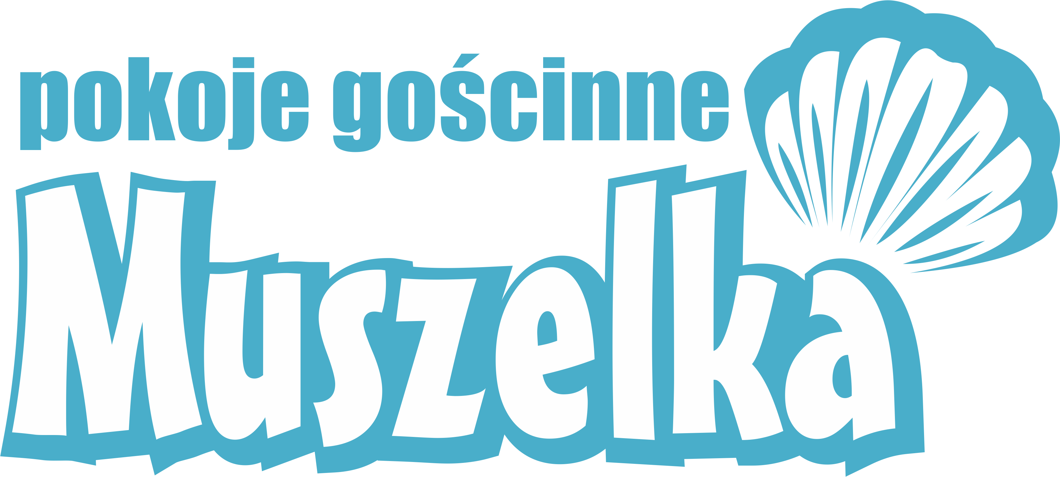 Pokoje gościnne - Muszelka